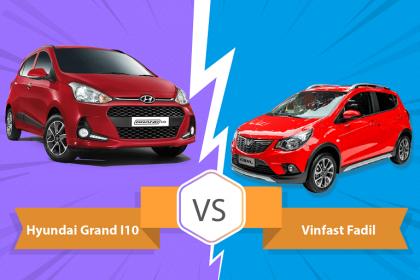 So sánh Vinfast Fadil và Hyundai i10: Xứng tầm đối thủ