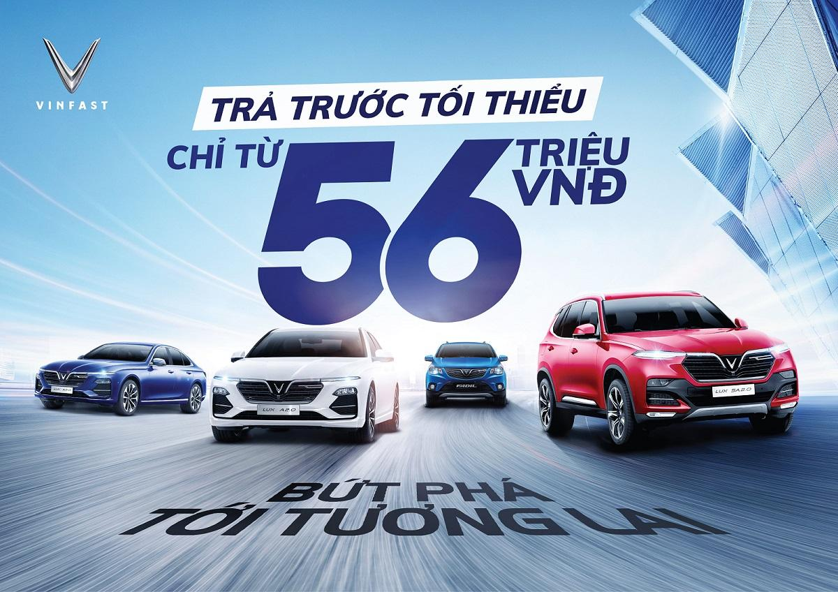 """Giá xe VinFast Đà Nẵng tháng 5/2021 - Tiếp tục duy trì chính sách """"Trước bạ 0 đồng"""""""