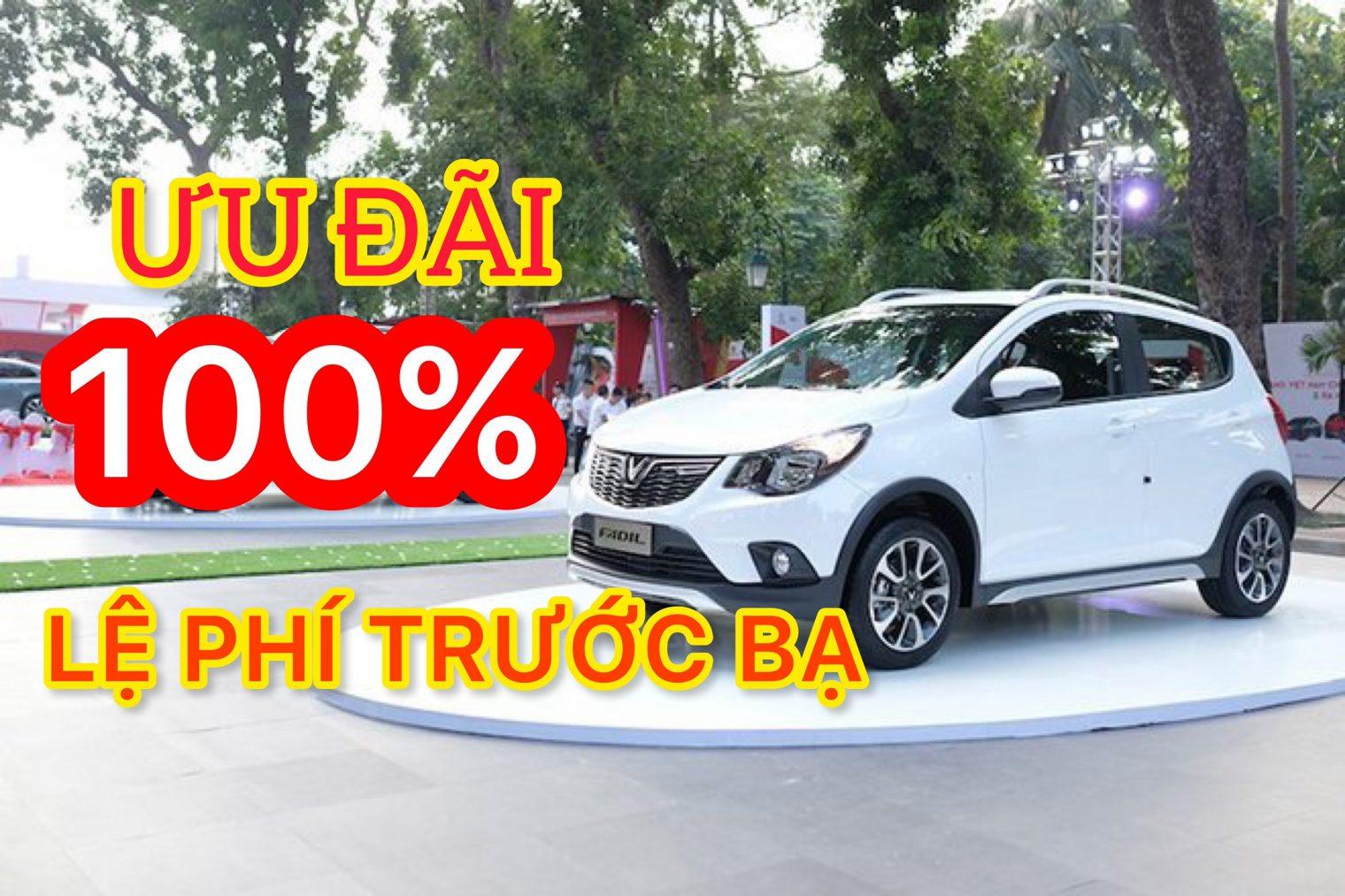 Tặng 100% lệ phí trước bạ cho VinFast Fadil tháng 7 - Cơ hội mua xe Fadil với giá rẻ nhất - VinFast Đà Nẵng